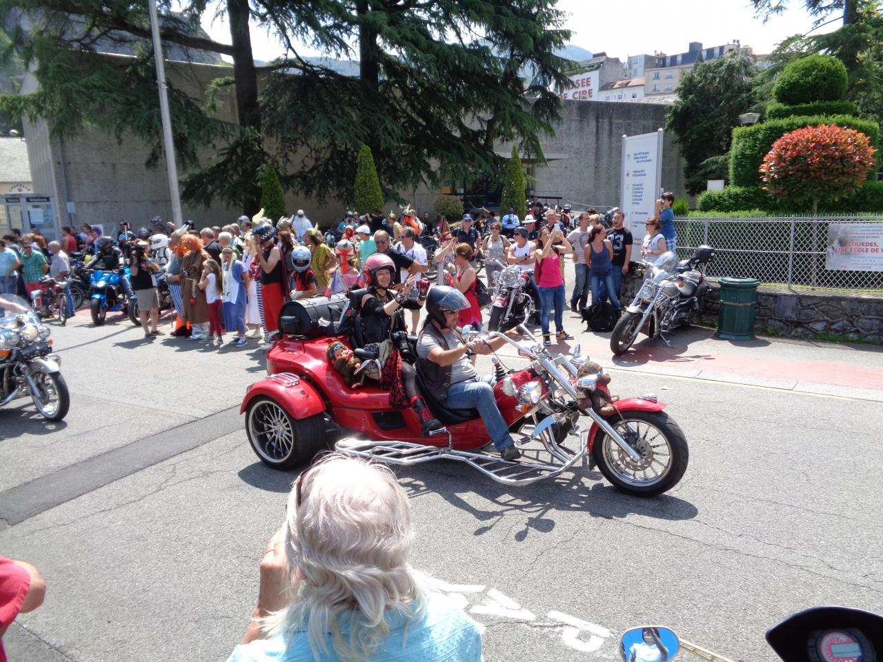 Pèlerinage Des Motards 2015