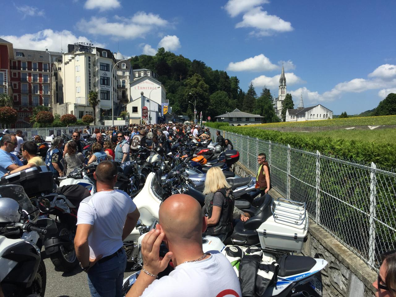 Pèlerinage des Motards Lourdes
