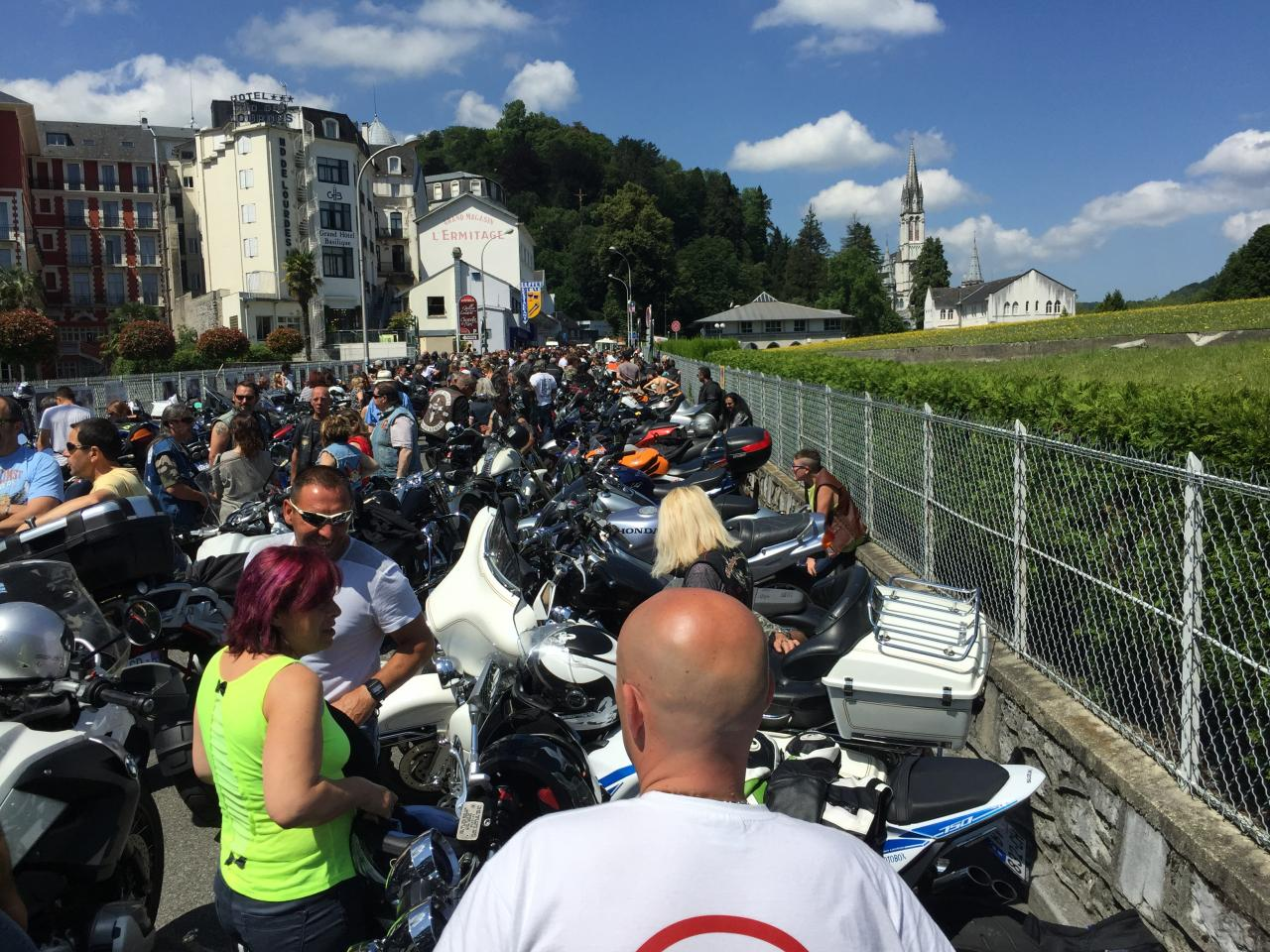 Pèlerinage des Motards Lourdes